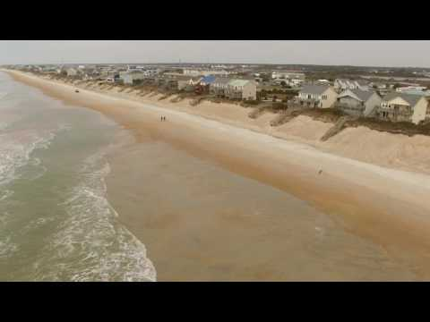 Live With Topsail Shipwreck Episode By Lewis Realty From Drone