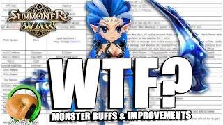 SUMMONERS WAR : Monster Balancing and Improvements (Pre-Buff)