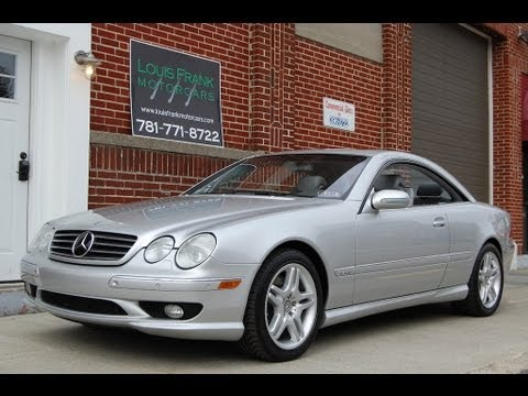 2001 Mercedes Benz CL600 AMG Sport V12 Walk-around at Louis Frank Motorcars, LLC