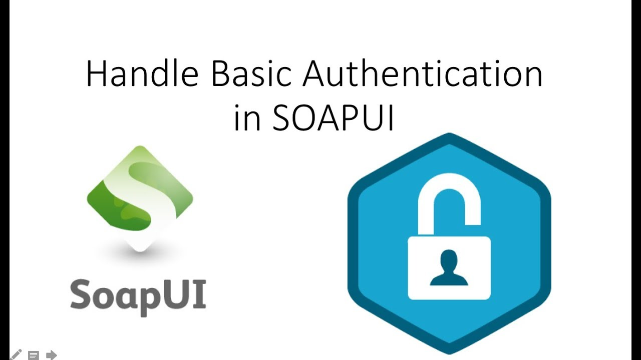 How To Handle Authentication in SOAPUI