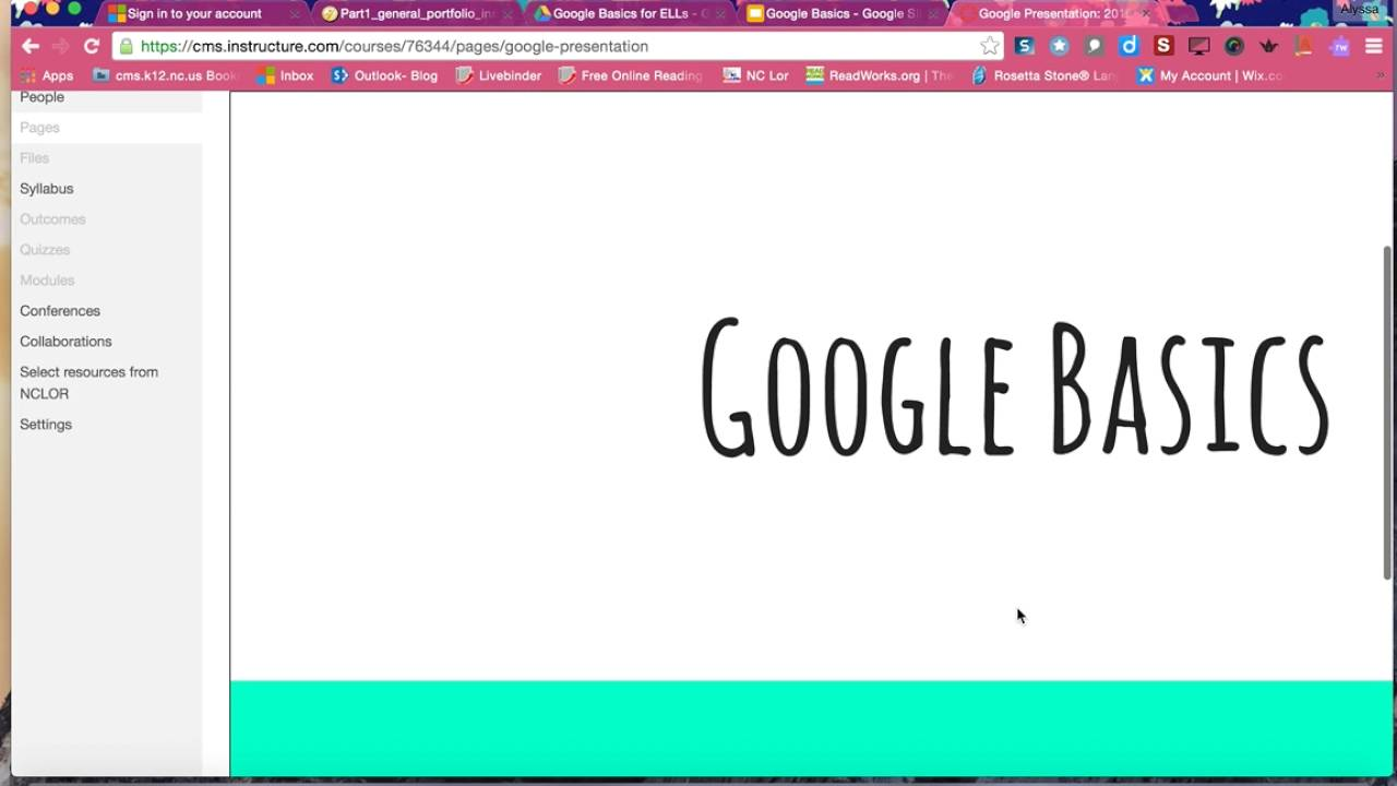 embedding google slides into canvas youtube