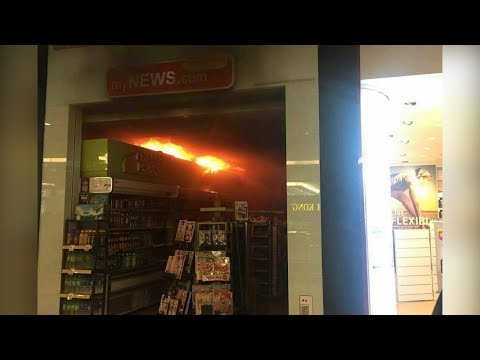 Small fire breaks out at Kuala Lumpur's Mid Valley mall