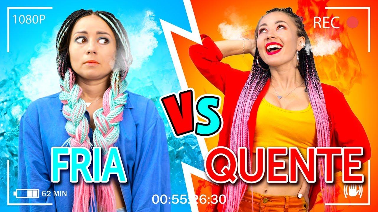Desafio Garota Quente vs. Fria || Musical para você se reconhecer, por La La Lândia (vídeo musical)