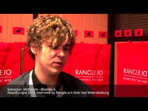 Sebastian McKenzie's interview at ReactEurope 2015 by Rangle.io