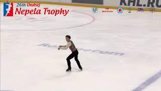田中 刑事 / Keiji TANAKA - Nepela Trophy 2018  Men - Free Skate - September 22, 2018