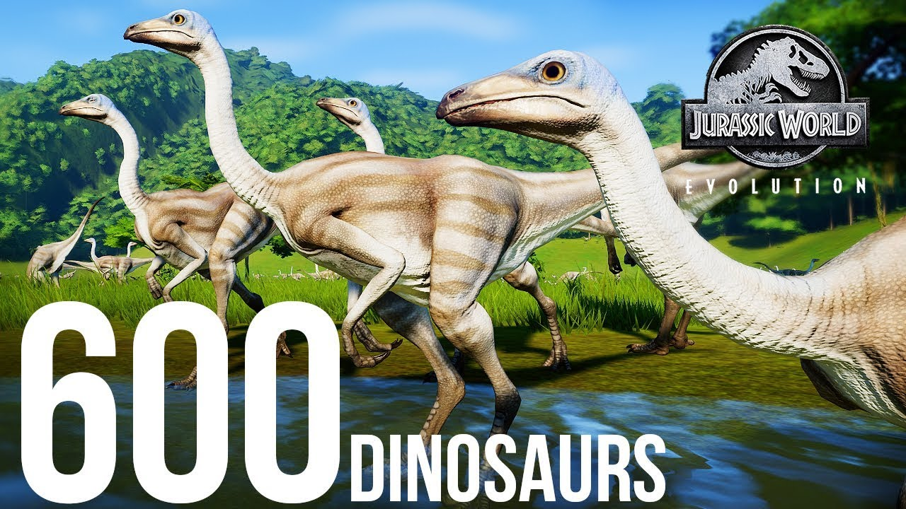 600 DINOSAURS IN ONE PARK!? HOW HIGH WILL IT GO? | Jurassic World: Evolution Experiment