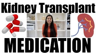 Current Medications (1 year and 5 months post kidney transplant)