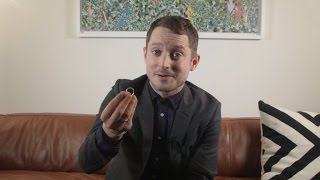 Elijah Wood Has A Present For Stephen