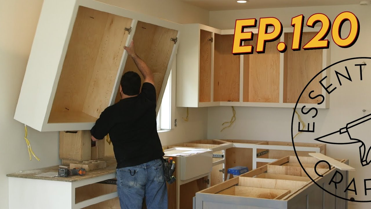Kitchen Cabinet Installation Ep. 120