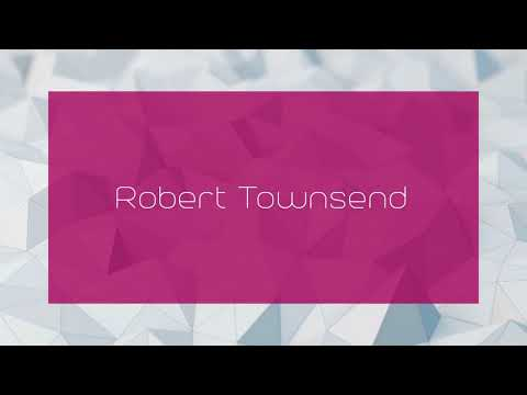 Robert Townsend - appearance