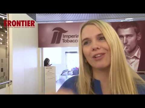 Frontier exclusive interview with Imperial Tobacco's Dr.Jennifer Cords. Metropolis Multimedia.