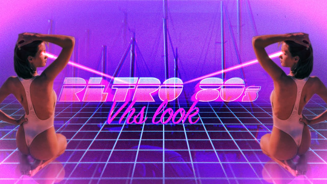 Retro 80s Intro After Effects Motion Graphics Tutorial