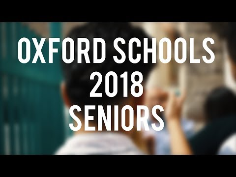 Oxford Schools Seniors 2018