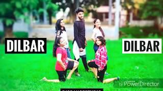 DILBAR DILBAR | SATAYMEV JAYTE | HIT SONG 2018 |  DANCE CHOREOGRAPHY | NICKY DANCER |