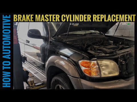How to Replace the Brake Master Cylinder on a 2000-2007 Toyota Sequoia