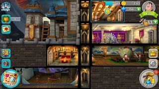 صخب القلعة: مملكة الخيال (من قبل My.com B. V.) - لعبة آر بي جي لالروبوت ودائرة الرقابة الداخلية اللعبة.