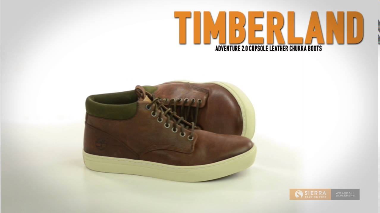 Timberland Adventure 2.0 Cupsole Leather Chukka Boots Waterproof (For Men)