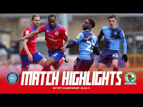 Wycombe Blackburn Goals And Highlights