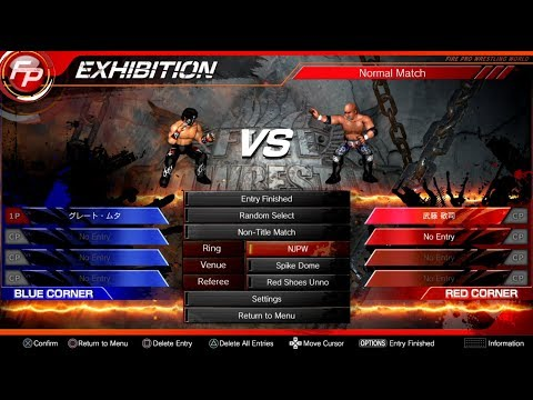 Fire Pro Wrestling World PS4 - How to download CAWs!