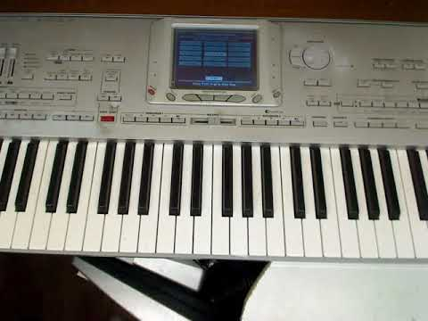 KORG PA1X Pro (DEMO Songs) Solo Instruments