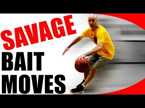 7 SAVAGE Crossover Bait Basketball Moves! [How To ANKLE BREAK]