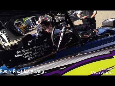 Short Track Super Series - New Egypt Speedway Dirty Jersey 40 - 6/14/16