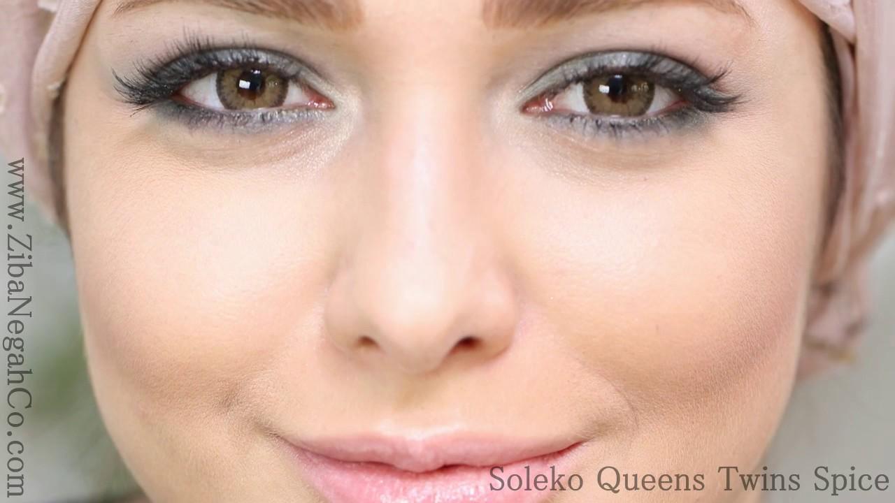 34bd5c489 lens Soleko Queens Twins Spice by Ziba Negah