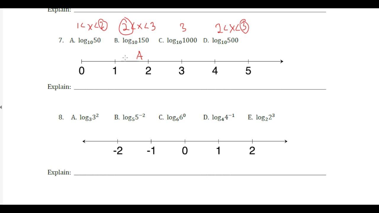 mvp math iii 2 1 task log logic youtube