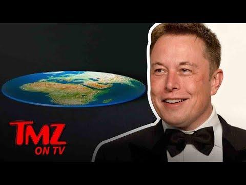 Elon Musk Owns Flat earther's!   TMZ TV