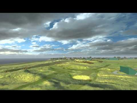 The 143rd Open at Royal Liverpool: Full Course Flyover
