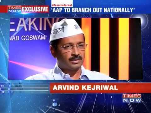"""But Let Me Speak!""  Arnab Goswami vs Arvind Kejriwal"