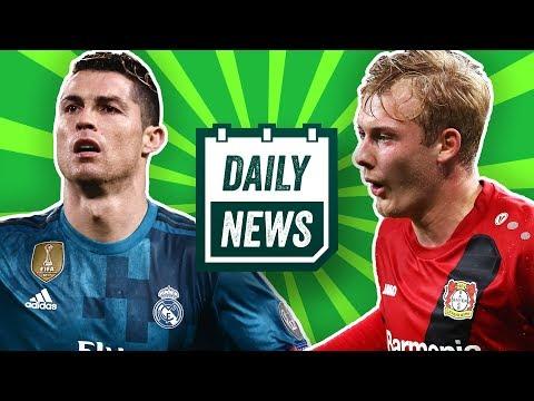 Champions League: Ronaldo, FC Barcelona, Liverpool! Leverkusen: Brandt verlängert! Daily News