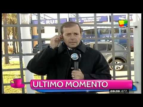 Osvaldo apareció en el entrenamiento de Boca