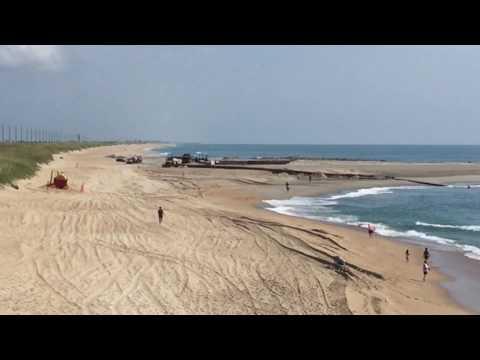 Cape Hatteras Motel sand pumping update 7.5.17