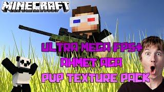 ULTRA MEGA FPS AHMET AGA PVP TEXTURE PACK (Türkçe Minecraft Hunger Games - #171)