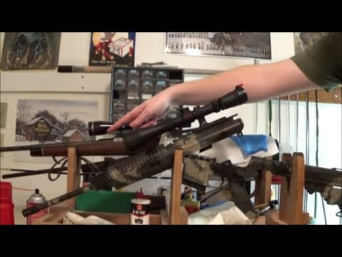 How I Clean The AR15 part 3. Cleaning barrel.