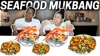 ARE WE REALLY MARRIED??   SEAFOOD BOIL MUKBANG🦀