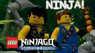 lego ninjago shadow of ronin walkthrough gameplay english commentary 3ds ps vita part 1 chen