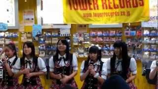 2013年2月2日(土) 14:00~ タワーレコード広島店インストアLive (曲途...