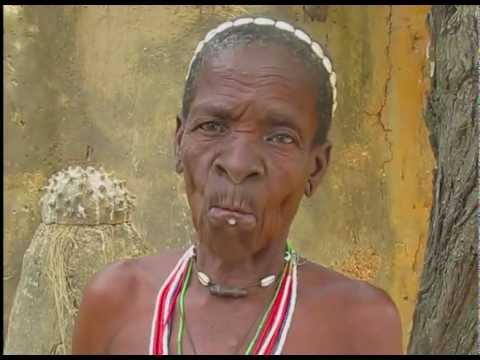 Kvinna från Batammariba-stammen Togo