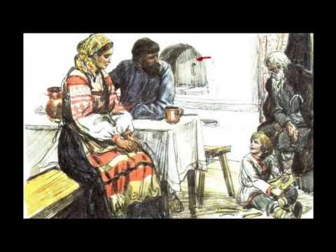 Л  Толстой Старый дед и внучек