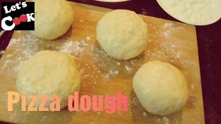 PIZZA DOUGH EASY PIZZA DOUGH RECIPE BY LET
