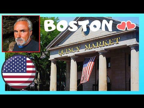 BOSTON, the historic QUINCY MARKET (USA)