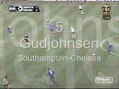 Chelsea FC best goals 2004/2005