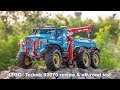 LEGO Technic 42070 6x6 All Terrain Tow Truck detailed review & off-road test