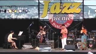 井上さとみクィンテット : 2016 8/6 Jazz Picnic In Inagawa 関西ジャズスクールプレゼンツ、猪名川運動公園