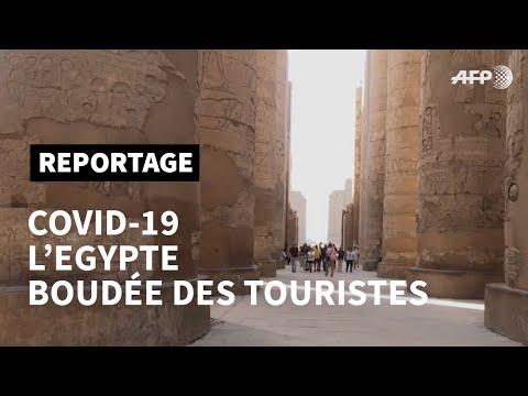 En Egypte, le coronavirus fait pâlir un tourisme déjà fragile | AFP Reportage