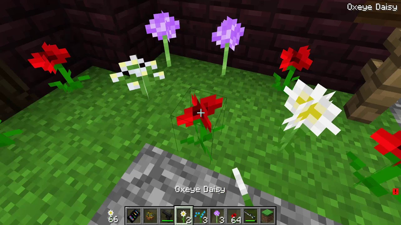 SCP 621 : Obsession Flowers Control Mario!   Minecraft SCP Roleplay