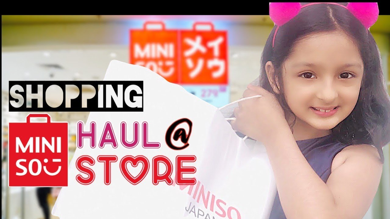 Miniso Haul Store Shopping Tour Its Me Trisha Miniso