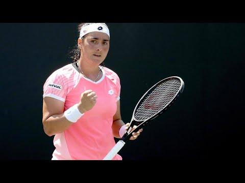التونسية أُنس جابر أول عربية تحرز لقبا في بطولة رابطة المحترفات لكرة المضرب  - 12:56-2021 / 6 / 21